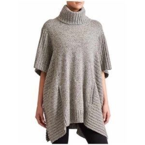 Athleta Passage Poncho sweater